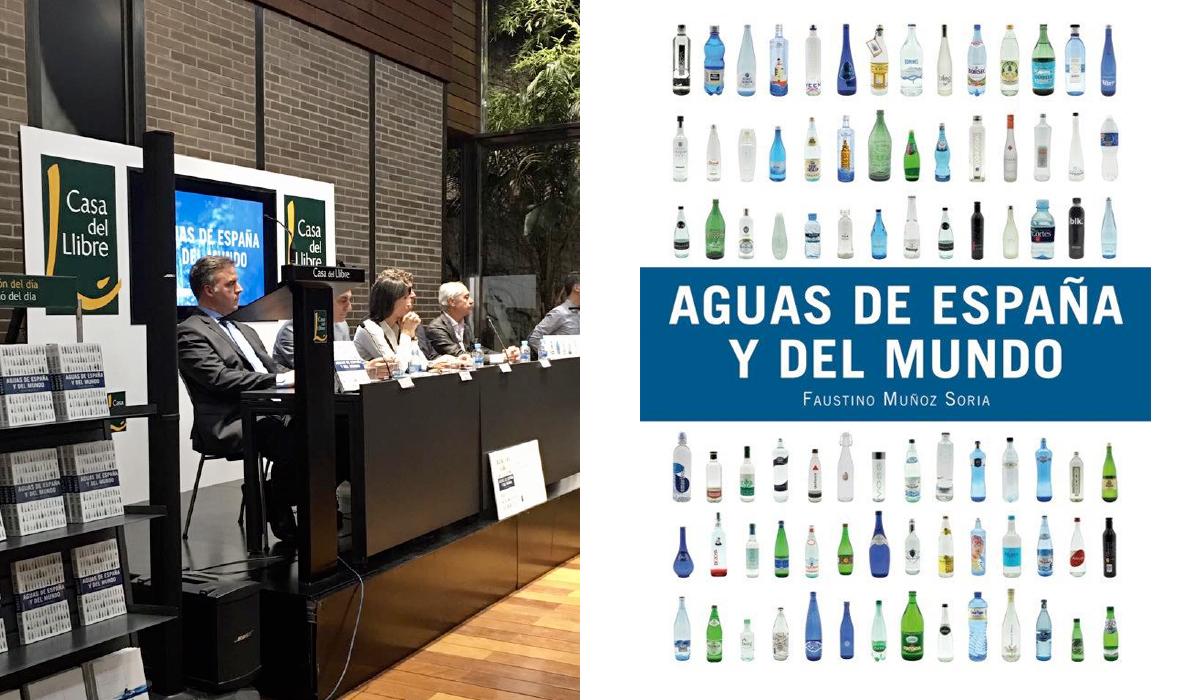 Presentación del libro Aguas de España y del mundo, del sumiller Faustino Muñoz Soria.