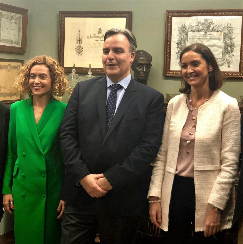 Visita de las Ministras de Industria y de Política Territorial al Laboratorio